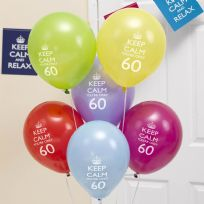 Keep Calm You're Only 60 Balloons (8)